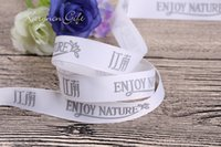 Wholesale Custom Showers - 1-1 2''(39mm) custom bridal shower ribbon and ribbon with names on it for a wedding grosgrain ribbon 100yards lot