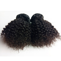 Wholesale Brazilian Indian Remy - Brazilian Virgin human Hair extension sexy Short 8-16inch Kinky Curly hair weft Best Quality Soft and beautiful Indian remy Human Hair
