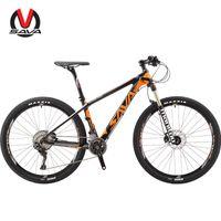 Wholesale Mtb Frame Carbon Fork - SAVA DECK700 Carbon Fiber MTB Mountain Bike 27.5 29 inches 22 Speed Bicycle Carbon frame SHIMAN0 DEORE XT M8000 manitou fork suspension mtb