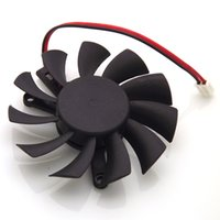 Vente en gros Nouveau 55mm TT 6010M12F ND1 Ventilateur 12V 0.20A 39 * 39 * 39mm 2Wire 2Pin Carte graphique Graphics VGA Cooler Fan