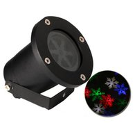 Wholesale Outdoor IP65 Waterproof Projector Christmas LED Snowflake Light Landscape Lighting Decoration Wedding Party Spotlight Lawn laser NEW