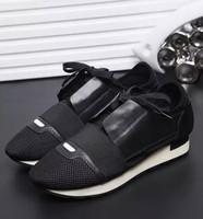 nuevos colores de ejecución libre al por mayor-2017 Nueva Marca de la Llegada Que empalma 4 Colores Hombres Mujeres Ocio Deportes Correr Zapatos de Alta Calidad Envío Gratis