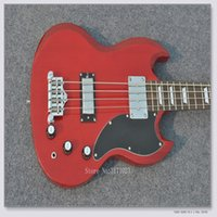 HOT 4 strings Bass RED SG Bass Guitarra elétrica baixa
