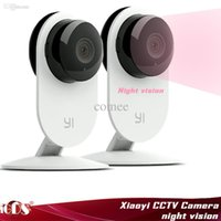 Wholesale Xiaomi Smart cctv Camera Small ants smart webcam IP Wireless Wifi camcorder Built in Microphone Support Two Way Intercom xiaoyi