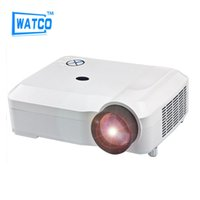 Wholesale Most Popular Business - Wholesale-Most Popular Video Cinema HDMI 4600lumens 1280x800 1080P LED TV 3D Mini HD Projector Beamer Proyector