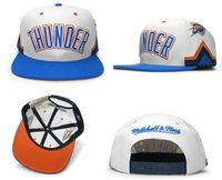 Wholesale Cheap For Hats White - Wholesale Oklahoma Adjustable Thunder Snapback Hat Thousands Snap Back westbrook Hat For Men Basketball Cap Cheap Hat men women Baseball Cap