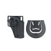 Wholesale Plastic Tactical Holster - New Type P226 CQC Holster Pistol Gun with Paddle in Hard Plastic for Tactical Wargame Use CL7-0036