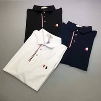 Wholesale M1740 new arrivel summer men s mon Luxury brand polo t shirt fashion t shirt short sleeved men classic polos france style plus sizes