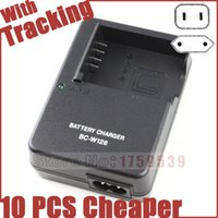 Wholesale Np Battery Charger - Wholesale- BC-W126 BCW126 Battery Charger for Fujifilm NP-W126 NPW126 FNPW126 X-T1 E2 A1 M1 HS30 33 X-E1 XE2 XT1 XE1 X-E2 X-M1 XM1 X-Pro1