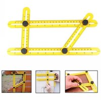 Wholesale Wholesale Plumbing Tools - Angle-izer Angle Measure Multi-Angle Ruler Template Tool Measures All Angles Forms Angle-izer for Handymen Builders Craftsmen Repetitive
