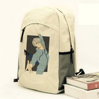 Wholesale yuri cosplay - Wholesale- Yuri on Ice Victor Nikiforov Backpack Yuri Plisetsky Yuri Katsuki Cosplay Canvas Rucksack Shoulder Bags Daypack Schoolbag