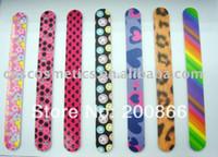 Wholesale Nail File New Styles - Wholesale- 12pcs 2017 New Style Factory Direct Selling dropship nails supplies nail care tools Emery board nail file