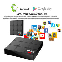 Wholesale Play Install - M9S V3 android 6.0 TV Box RK3229 KDplayer 17.3 installed 4K HDR HEVC 3D Movies play Private model 1GB 8GB WIFI Internet TV Boxes 0803138