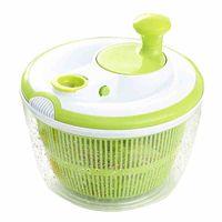 Wholesale basket bamboo - Vegetable Salad Spinner Household Kitchen Gadget For Furit Dehydrator Dryer Colander Basket Easy To Use 29 8jd C R