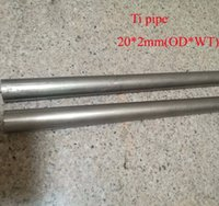 Wholesale Industry Tube - 20*2mm(OD*WT), Ta2 Titanium Pipe Industry Experiment Research DIY GR2 Small Ti Tube about 490 mm pc, 2pcs lot