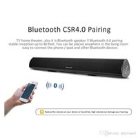 Alto-falante de plástico ABS de alta qualidade para BT Home Theater Bloetooth Wireless Surround Speaker Soundbar S11 para Home TV movie