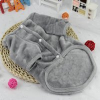 Wholesale Dog Couture - Totoro change to put teddy four feet small dogs couture dog clothes cotton pet clothes qiu dong