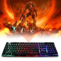 Wholesale Aula Gaming - fantech K9 Floating keys Magnet booster Chroma Luminous Light Gaming Keyboard
