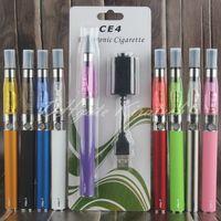 Wholesale Ego Ce4 Blister Kit Factory - eGo ce4 starter kit e cigarette ego-t vaporizer blister packing ecig vape pen bulk in stock china electronics factory wholesale