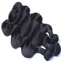Wholesale Cheap 22 Inch Brazilian Weave - Brazilian Hair Weave Body Wave UNPROCESSED Remy Hair Wefts Cheap Wholesale Virgin Brazilian Indian Malaysian Peruvian Human Hair Extensions