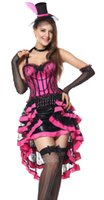 Wholesale Adult Pink Dresses - Adult Sexy Womens Halloween Cosplay Party Angel Queen fancy dress Outfits S081771 SIZE SMLXLXXL