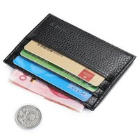 Wallets sports coin banks - hot sale ultra thin fashion designer multifunction simple coin purse id bank card holder men leather wallet