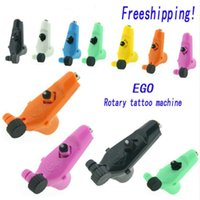 Wholesale Rotary Plastic Tattoo - Ego Rotary Tattoo Machine Gun 7 Colors Available Light Weight Supply For Tattoos Machine Kits New Legend