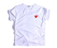 Wholesale Play T - 2017 Gosha Rubchinskiy short sleeve plays T-shirt female letter loose lovers tee kanye west t shirt