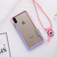 Wholesale Capa Mobile - Ultra Slim Shockproof Candy color TPU Soft Frame Bumper Case for Apple iPhone X Mobile Phone Bumper 8 colors Capa