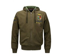 Wholesale Military Style Clothing Women - Military Style Air Force Fly Pilot Hoodie Jacket Men Tactical Airborne Flight US Army Clothes Autumn Casual Sweatshirt Hoodies