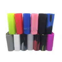 Wholesale Sleeve Boxes - Smok Alien 220w Silicone Case Colorful Rubber Sleeve Protective Cover Skin For SmokTech Alien 220 TC Box Mod Kit Vape Protective Cover Skin