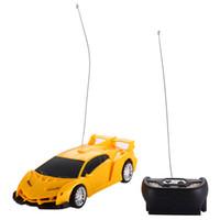Wholesale Rtr Drift - Wholesale- Kids Remote Control Car 1 24 Drift Speed Radio RC RTR Truck Racing Car Toy Xmas Gift Orange Red (Send by random)