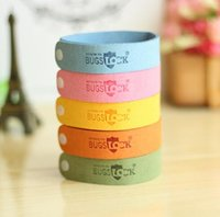 Wholesale Newest Mosquito Repellent Band Bracelets Anti Mosquito Pure Natural Baby women and men Wristband Hand Ring