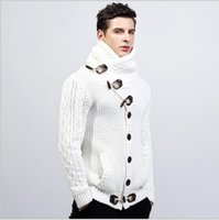 Wholesale Blusas Moda - Novos homens marca moda camisola dos homens de malha blusas de lã dos homens de roupas camisola sweaterknittedb