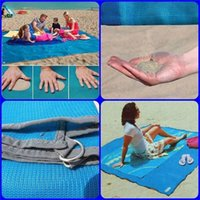 Wholesale Outdoor Tent Pink - 3Colors Camping Mat Outdoor Waterproof Foldable Picnic Pads Sand Free Mat Blanket Pad for Beach Tent 200*150cm   200*200cm two size 0711030