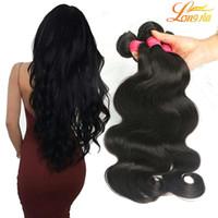 Wholesale Indian Extensions Price - Brazilian Body Wave 4 Bundles Factory Price Human Hair Extensions 8A Brazilian Virgin Hair Body Wave 100g Pcs Brizilian Body Wavy Hair