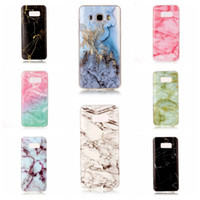 Wholesale Galaxy S3 Phone Skin Cover - Marble shell Soft Silicon Phone Cover For Samsung Galaxy S8 Plus S7 S6 Edge BAG SKIN CAPA S3 S4 S5 S6 J3 J5 J7 J510 J710