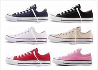 Wholesale Navy Blue Chucks - Credible Conver Chuck Tay Lor Shoes For Men Women Sneakers Run Sport Casual Low High Top Classic Skateboarding Canvas Cheap2017