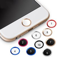 Touch ID Button Protector Aufkleber Home Keypad Keycap für IPhone 7 plus 5s 6 6s iPad Support Fingerabdruck Unlock