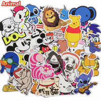 50 pcs Autocollants Cute Animal Hot vente Maison Décoration Jouet styling Télévision Autocollant Laptop Motocyclette Skateboard Doodle Diy Sticker