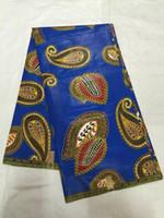 Wholesale Dress Fabric Textile - wholesale Nigeria textile cotton African printed Wax fabric batik dashiki for African Dress LRM01