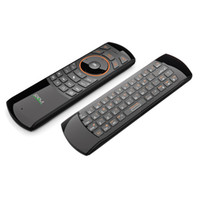 Wholesale Htpc Ir Remote - Wholesale-Rikomagic RKM MK705 2.4GHz 3 in 1 Wireless Air Mouse QWERTY Keyboard IR Remote Combo With Rechargeable Battery for Smart TV HTPC