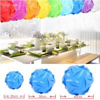 puzzle lichter großhandel-DIY Puzzle Licht Unendlichkeit Lichter IQ Puzzle Light Pieces Jigsaw Moderne Anhänger Ball Novel Puzzle Anhänger Bunte Lampenschirm # 30