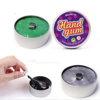 Wholesale Most Popular Toys - 2017 Most Popular Fidget DIY Toy Children And Adults Tin Package Megnetic Silly Putty Hand Gum Toy