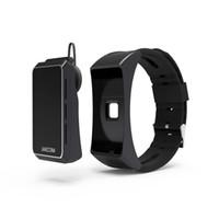 Wholesale Earphone Bracelet - Brand new Jakcom B3 Sports Smart bracelet Smart Watch with bluetooth earphone function Sleeping heart rate monitor bracelet
