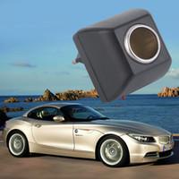 12v electronica al por mayor-Adaptador de CA al por mayor con el cargador automático del enchufe del coche Enchufe de la UE 220V AC a 12V DC uso para el uso de dispositivos electrónicos del coche en el hogar