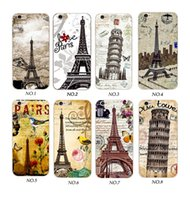 Wholesale Apple Tower Case - Wholecase Eiffel Tower Design Clear Soft TPU Phone Case For Iphone X 8 7 6 5 SE ,Samsung S6 S7 S8 Edge,Oppo R9 R9S R11,Viov Y66,Xiaomi 4