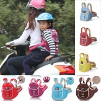 Wholesale Safety Locks For Seat Belts - Wholesale- 2017 New Adjustable Child Safety Seat Belt with Lock for Bicycle Motorcycle Cycling Baby-care