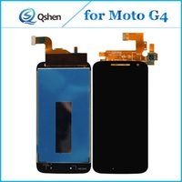 Wholesale Touch 4th Lcd Display - Original For Motorola G4 4th XT1620 1625 Lcd Touch Screen Display Digitizer with Assembly Repair Parts