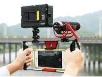 Wholesale Phone Gimbals - Hand held Monopods Simple and lightweight Handheld Gimbals for Mobile phone Video with video recording live